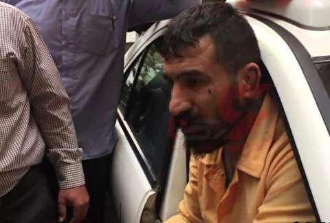 بازسازی صحنه قتل در ولنجک توسط وحید مرادی