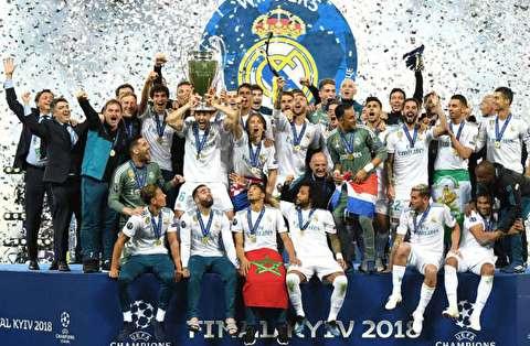 گزیده بازی رئال مادرید - لیورپول