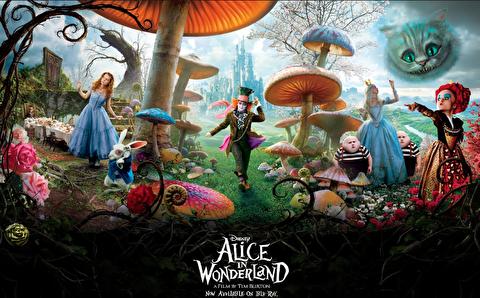 پشت صحنه آلیس در سرزمین عجایب