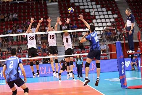 خلاصه لیگ ملتهای والیبال: ایران 1-3 ژاپن