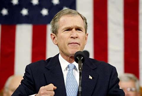 سخنرانی محور شرارت بوش