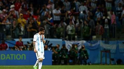 خلاصه بازی آرژانتین - کرواسی