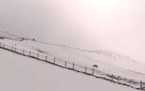 برف تابستانی در چین