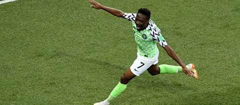 خلاصه بازی نیجریه - ایسلند