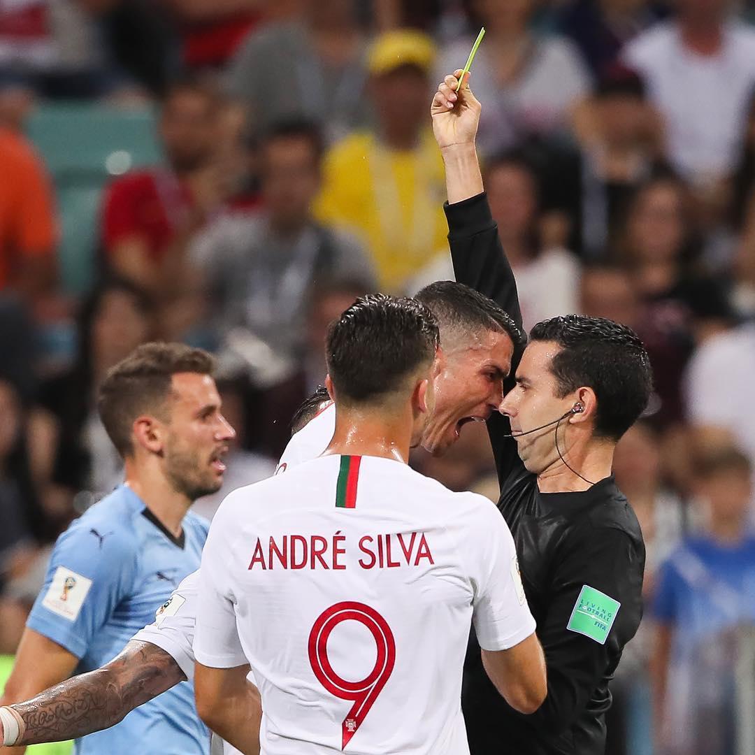 تصویری ازآخرین فریادرونالدو درجث جام جهانی