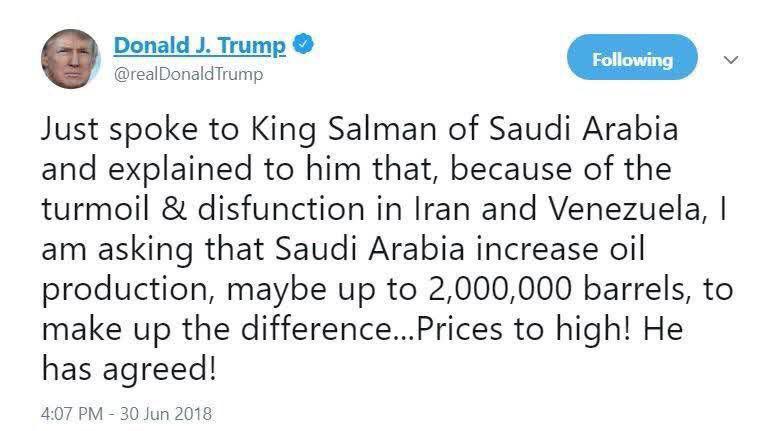 کشورهای آسیایی با به صفر رساندن صادرات نفت ایران همراهی خواهند کرد؟/ مخالفت ضمنی عربستان با درخواست ترامپ برای جایگزین کردن نفت ایران در بازارهای جهانی