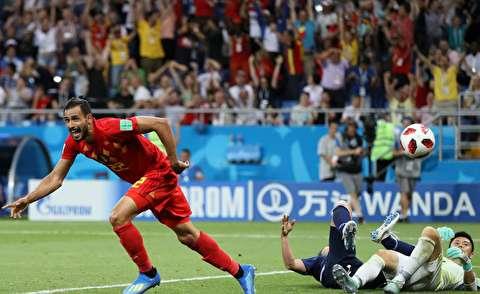 خلاصه بازی بلژیک - ژاپن