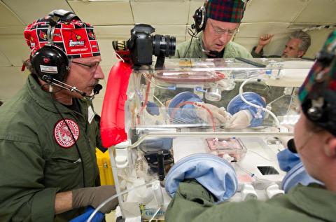 پیشرفتهای پزشکی برای جراحی در فضا