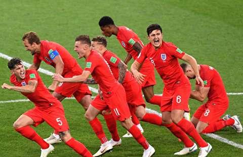 خلاصه بازی انگلیس - کلمبیا