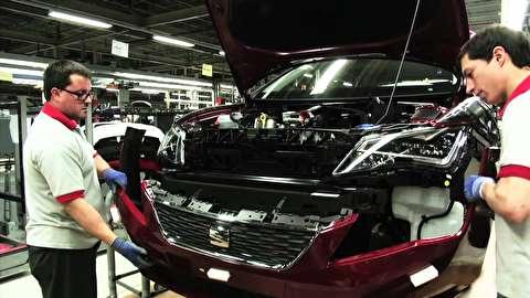 خط تولید سیات ایبیزا مدل 2016