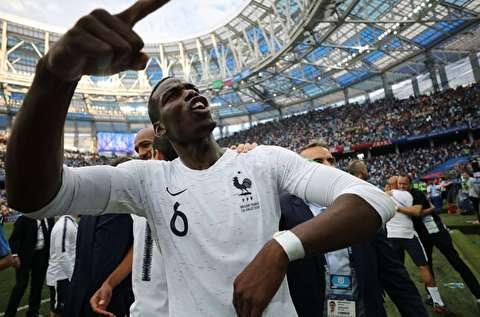 خلاصه بازی فرانسه - اروگوئه
