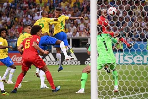 برزیل۱-بلژیک۲/ طلایی ها درجهنم شیاطین سوختند-برزیل از جام جهانی حذف شد