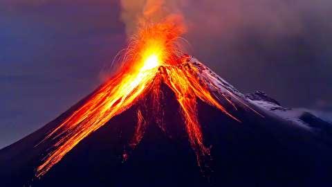چرا آتشفشان فوران میکند؟