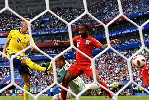 خلاصه بازی انگلیس - سوئد