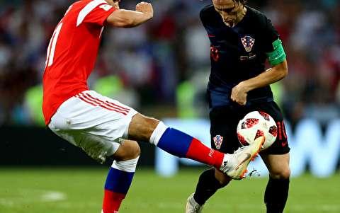 خلاصه بازی روسیه - کرواسی