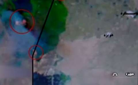 آسمان خوزستان برای هورالعظیم سیاه پوش شد