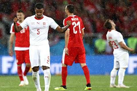 خلاصه بازی سوئیس - صربستان