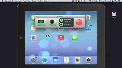 نحوه ضبط فیلم و اسکرین شات در محصولات اپل