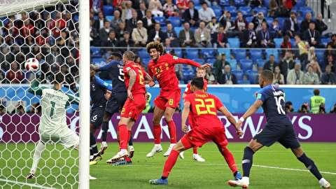 خلاصه بازی فرانسه - بلژیک