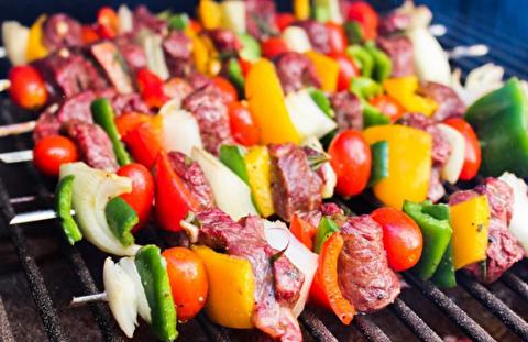 طرز تهیه کباب راسته گوشت گاو