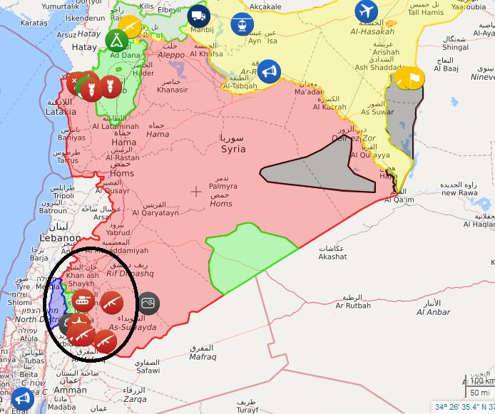 زمینه سازی اسرائیل برای حمله به جنوب سوریه به بهانه های بشردوستانه!