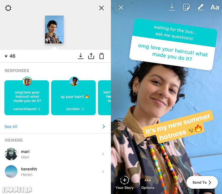 قابلیت جدید اینستاگرام در استوری