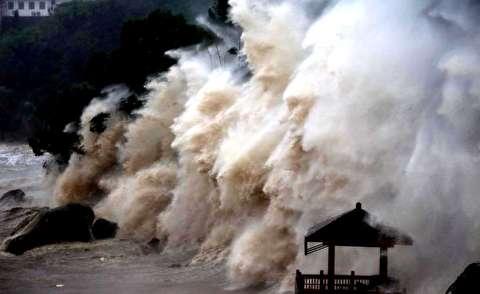 طوفان سنگین در چین