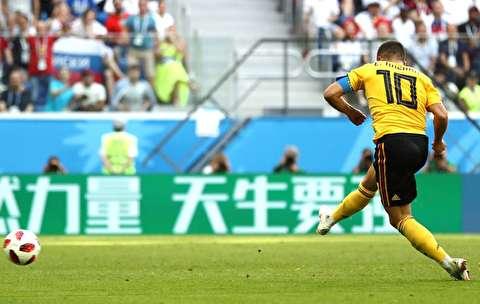 خلاصه بازی انگلیس - بلژیک