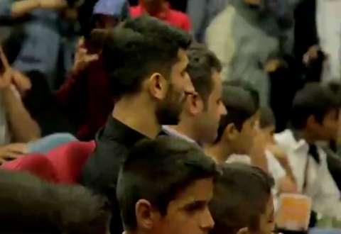 بیرانوند جام جهانی را با کودکان کار تماشا کرد
