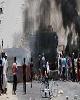تلاش معترضان برای حمله به دفتر جریان صدر در بابل عراق