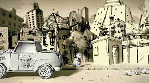 انیمیشن کوتاه کت واک - گذرگاه گربه سیاه