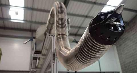 بازوی رباتیک برای برچیدن تاسیسات هستهای