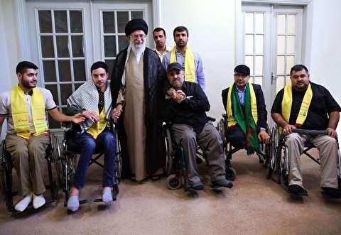سخنان پدر یکی از شهدای حزبالله خطاب به رهبری