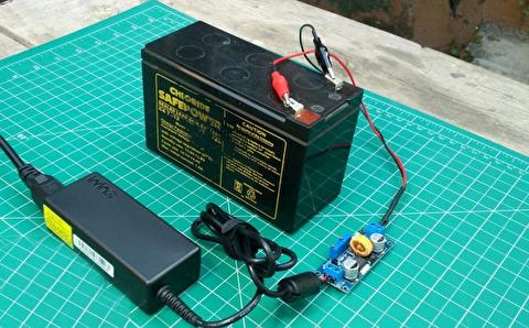 روش ساخت یک شارژر باتری 12 ولتی خودرو