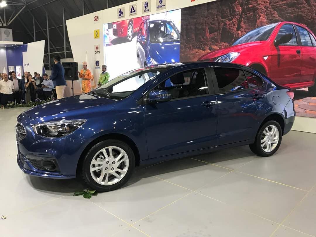 خودروی جدید شرکت سایپا رونمایی شد