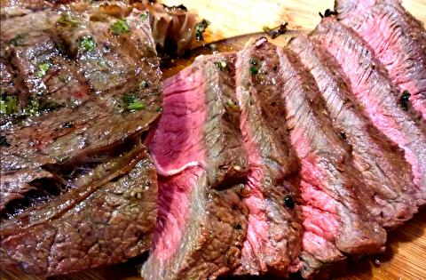 دستور پخت گوشت کبابی لندنی