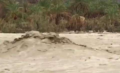 سیل در سیستان و بلوچستان در تابستان!