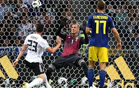 خلاصه بازی آلمان - سوئد