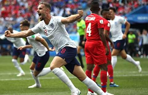 خلاصه بازی انگلیس - پاناما
