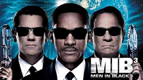 پشت صحنه فیلم مردان سیاه پوش 3