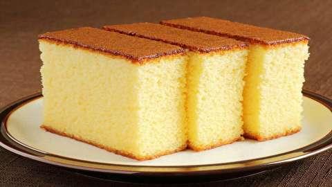 دستور پخت کیک وانیلی بدون فر