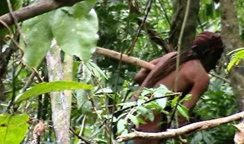 آخرین عضو یک قبیله در جنگل آمازون
