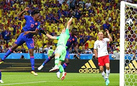 خلاصه بازی لهستان - کلمبیا