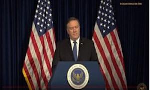 پامپئو: مایل به گفتوگو با تهران هستیم