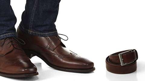 روش ست کردن کفش و کمربند