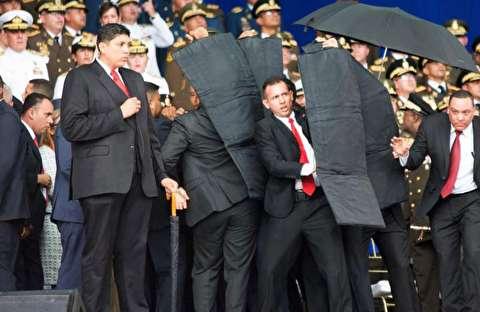 لحظات ترور رئیس جمهور ونزوئلا