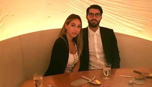 ازدواج کریم انصاری فرد با میلیاردر یونانی+عکس