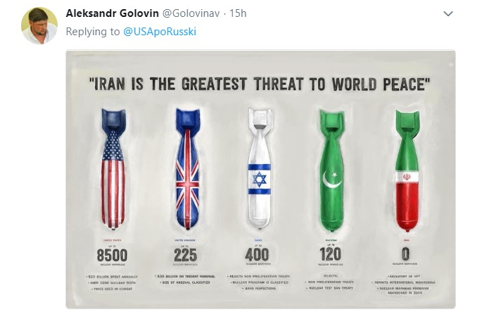 وقتی روسها، آمریکا را به خاطر ایران به باد ناسزا میگیرند!