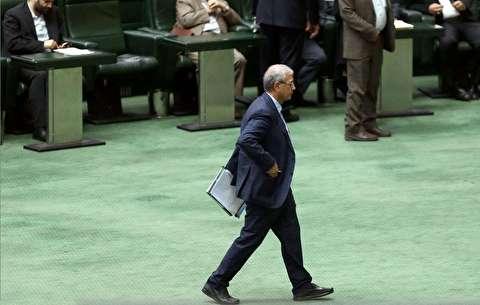 جلسه استیضاح علی ربیعی وزیر پیشین کار