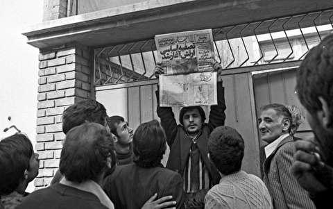 رونق روزنامه خوانی در اوج انقلاب اسلامی